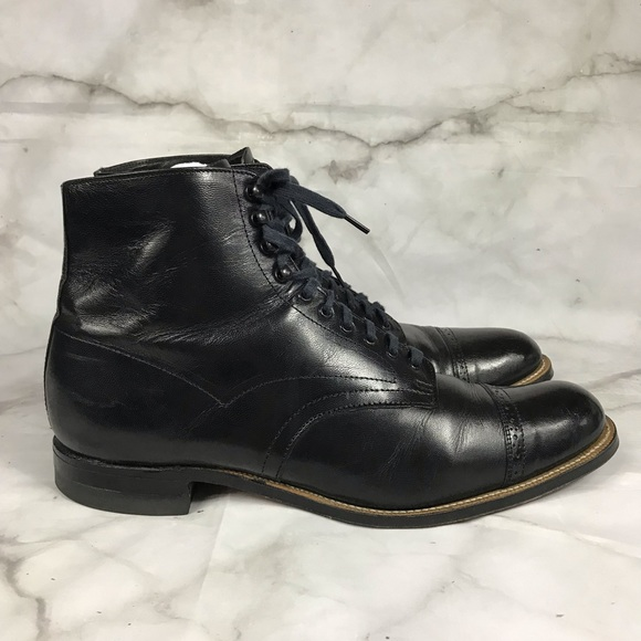 dffb943aadb 💥 Stacy Adams Madison cap toe boots